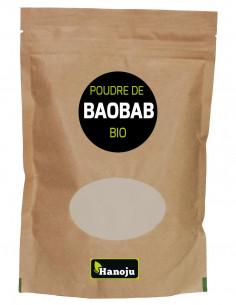 Poudre Bio Baobab - 100 g Hanoju