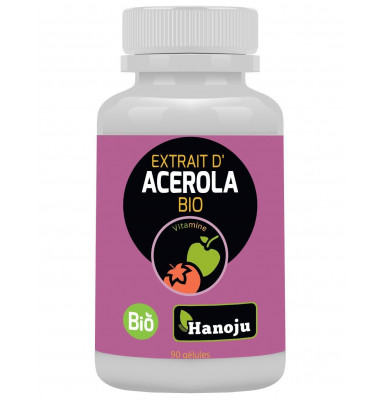 extrait acerola bio gelules