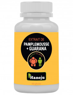 extrait pamplemousse guarana minceur gelules